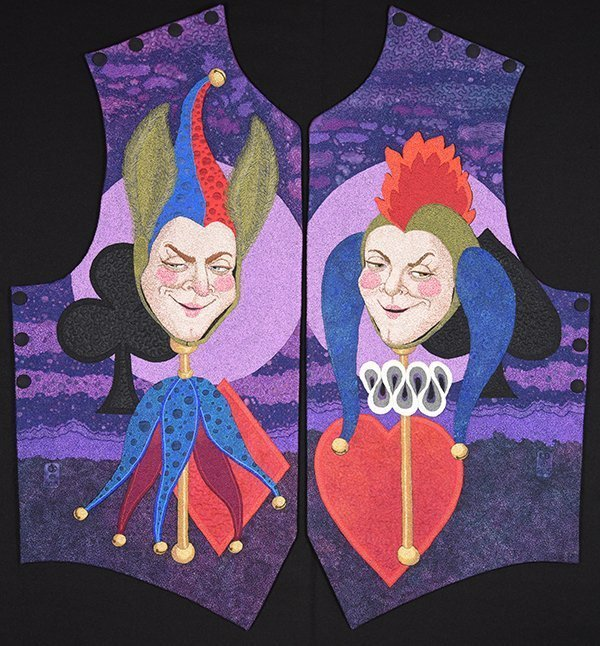 Joker Waistcoat by Ken Smith