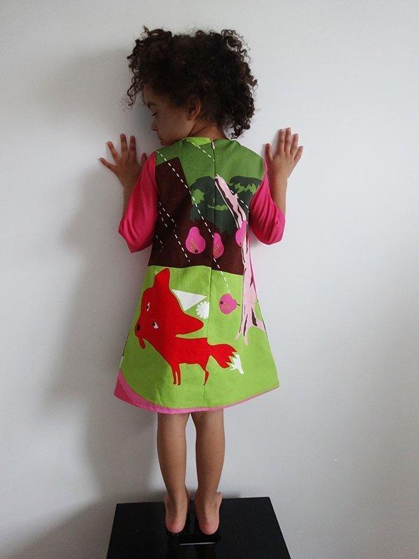 Lousia dress_back view
