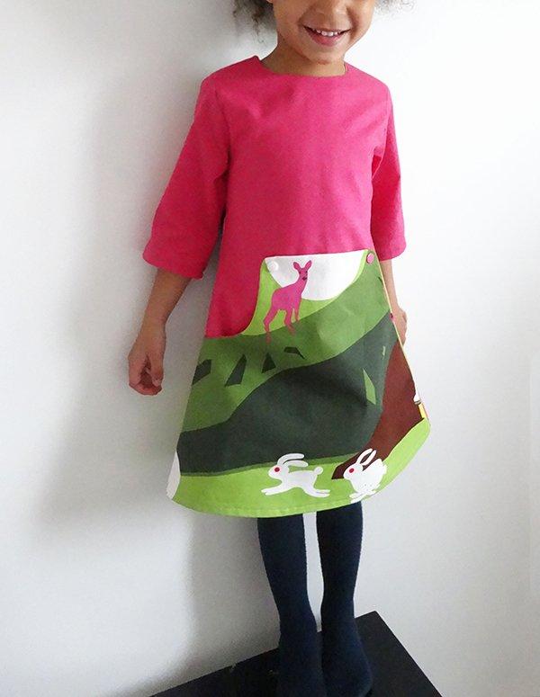 Lousia dress_front view