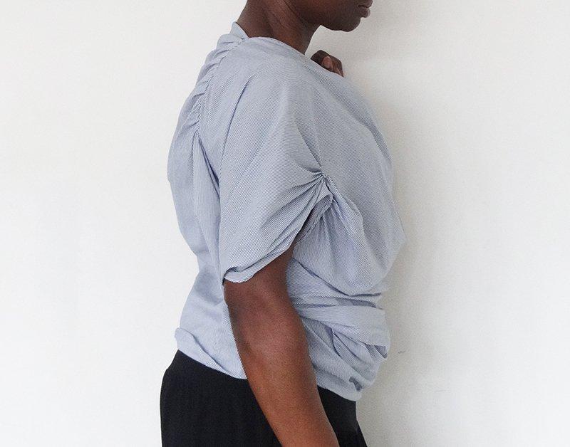 Drape drape blouse_side