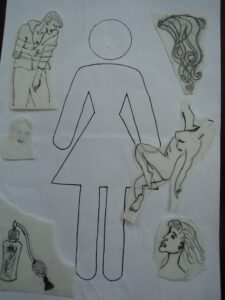 collating images in relation to the pictogram