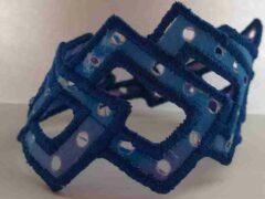 Blue  morphed  bangle