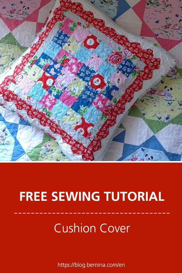 Free sewing instructions: Cushion Cover