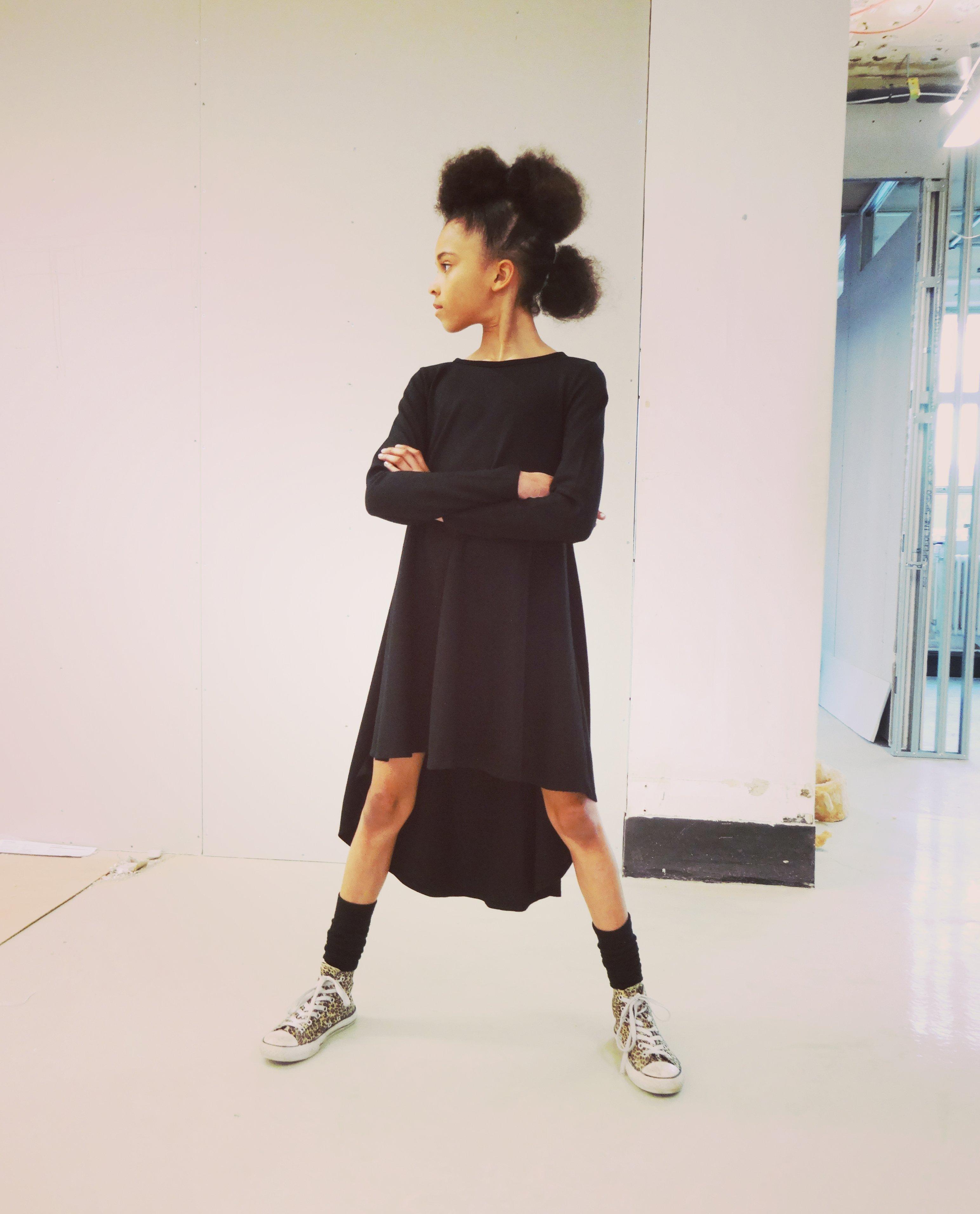 Darcy_groove dress_black_Mayfair1