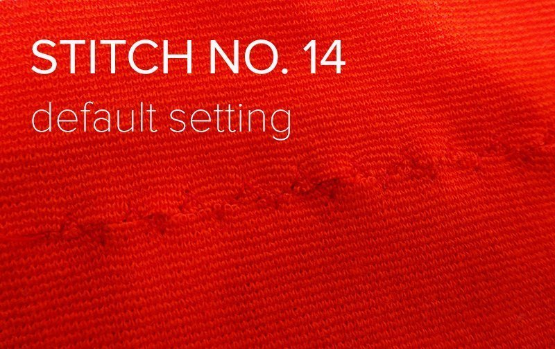 stitch 14 default setting