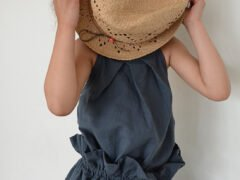 Pleat Fold top_Paper Bag skirt 2