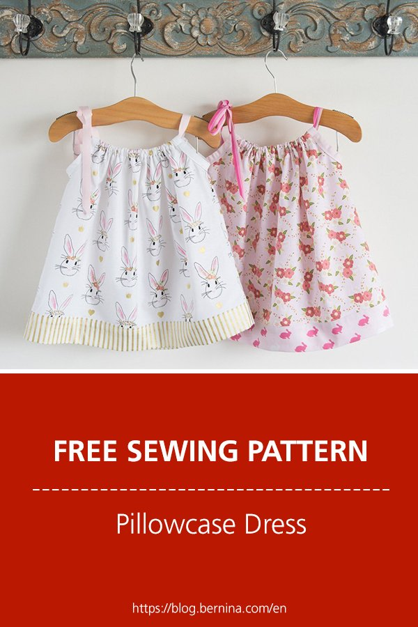 Free sewing pattern & instructions: Pillowcase Dress