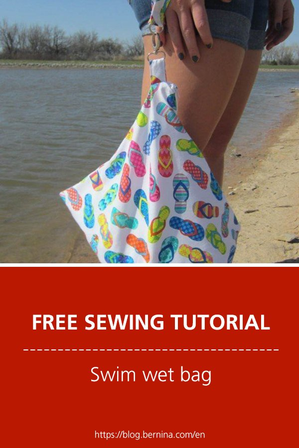 Free sewing instructions: Swim wet bag