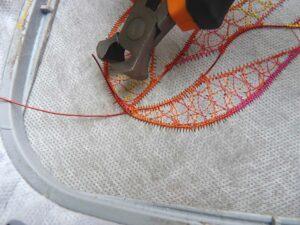 trim wire ends