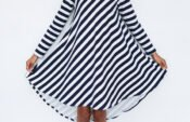 Groove dress in stripes_2