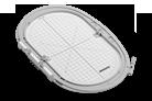 Large oval hoop