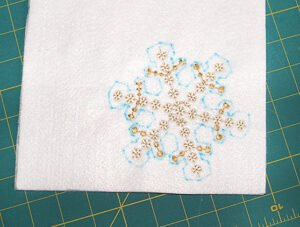 Stitched Snowflake