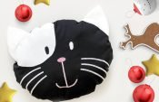 How to make a snuggly cat cushion (with free pattern)
