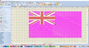 Bernina V8 Digitizing Software Australian Flag 11