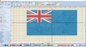 Bernina V8 Digitizing Software Australian Flag 13