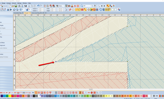 Bernina V8 Digitizing Software Australian Flag 9