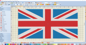 Bernina V8 Digitizing Software union jack