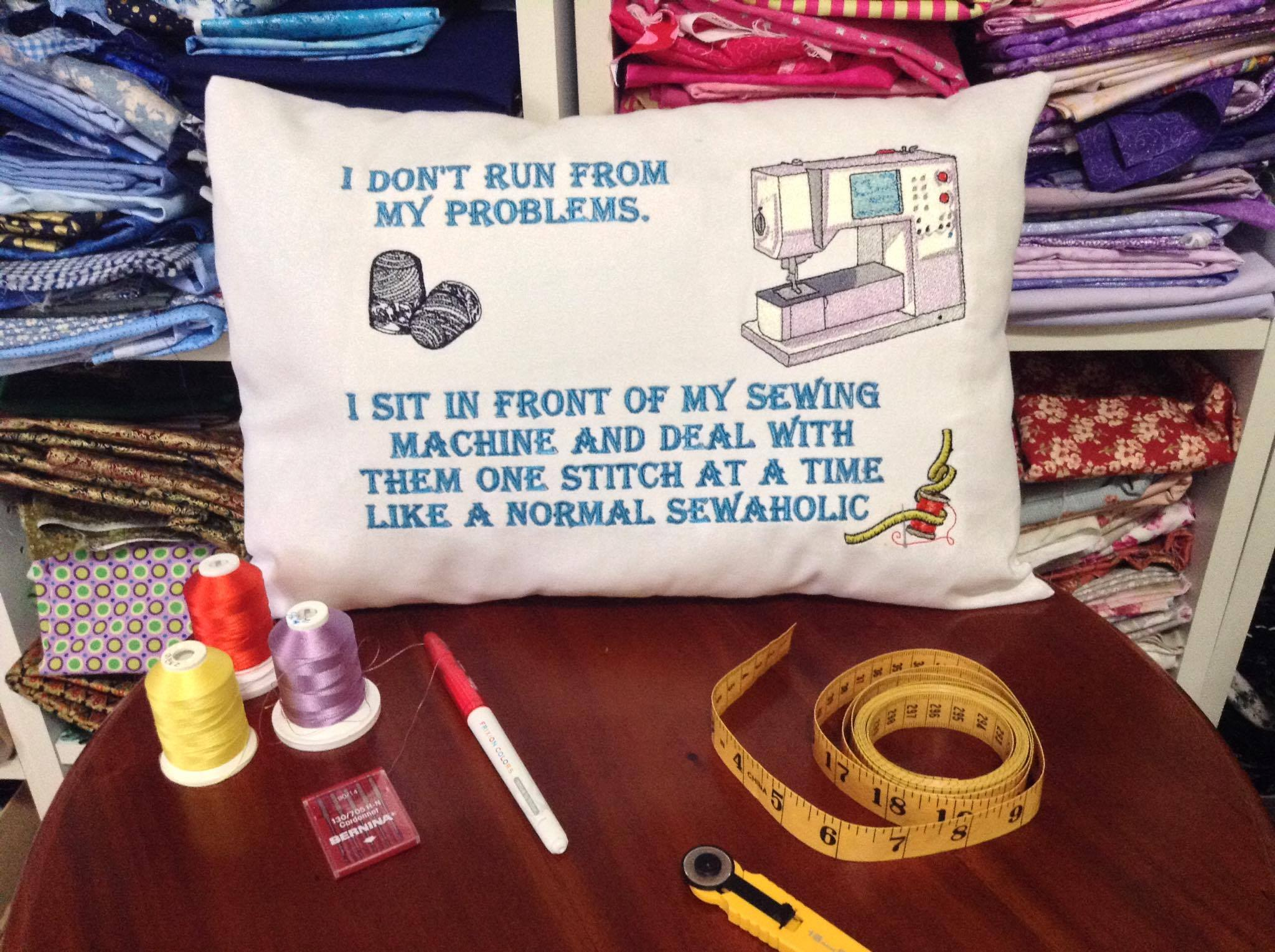Fill Your House With Inspirational Quotes With Bernina Embroidery