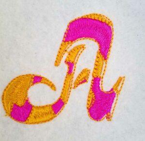 letter A script