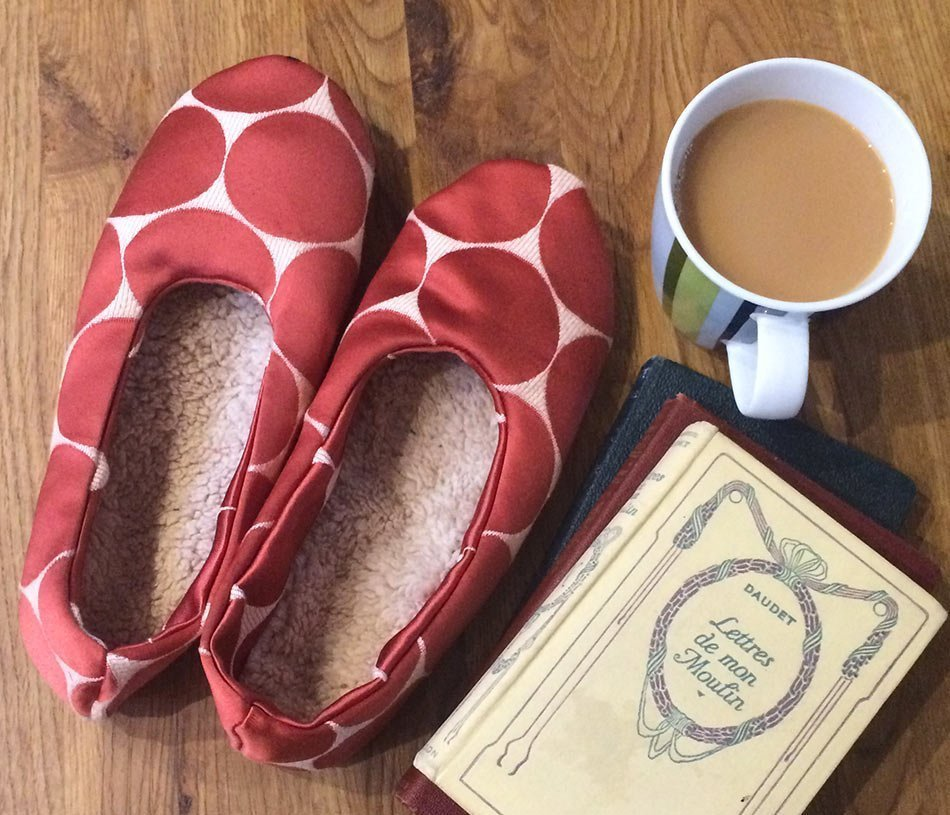 Supersoft Slippers - FREE sewing pattern and tutorial » BERNINA Blog