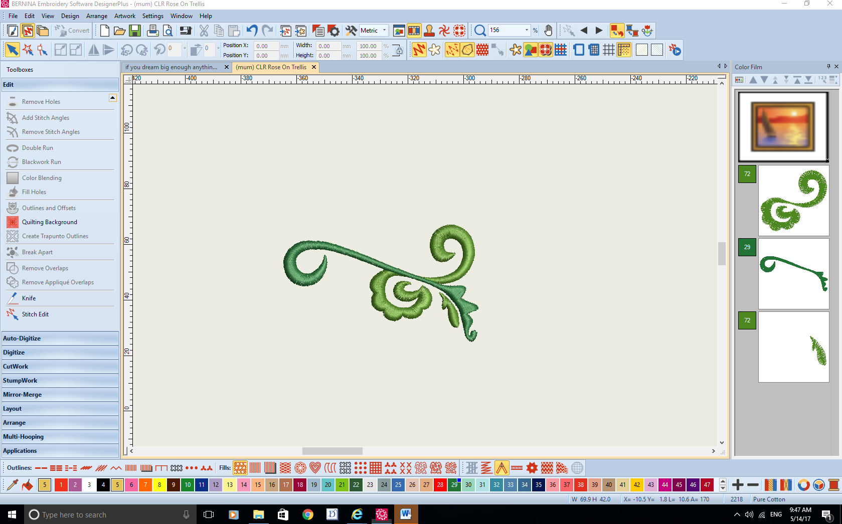 How To Digitize Embroidery Designs Free