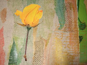Rose Transfer and screen printing