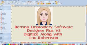 BERNINA Embroidery Software Digitizing a-long