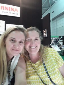 Leanne Harvey Bernina Australia Lou Robertson brisbane craft and quilt fair 2017