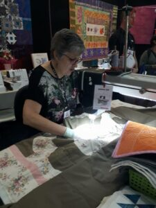 Jane Rundle Bernina Australia Lou Robertson brisbane craft and quilt fair 2017 2