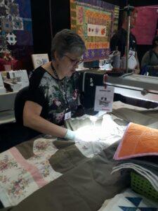 Jane Rundle Bernina Australia Lou Robertson brisbane craft and quilt fair 2017 2