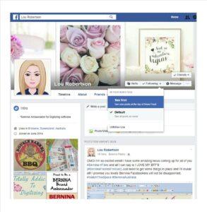 Bernina Designer Plus V8 Facebook Follow Lou Robertson