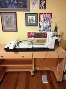 Bernina 830 LE Embroidery Machine
