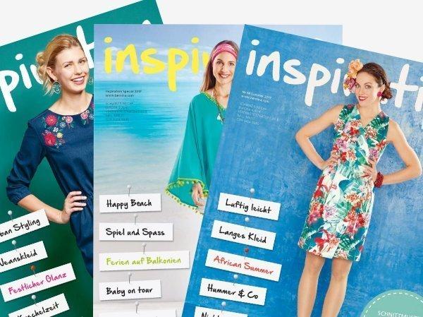 inspiration magazine by BERNINA, Blog newsletter