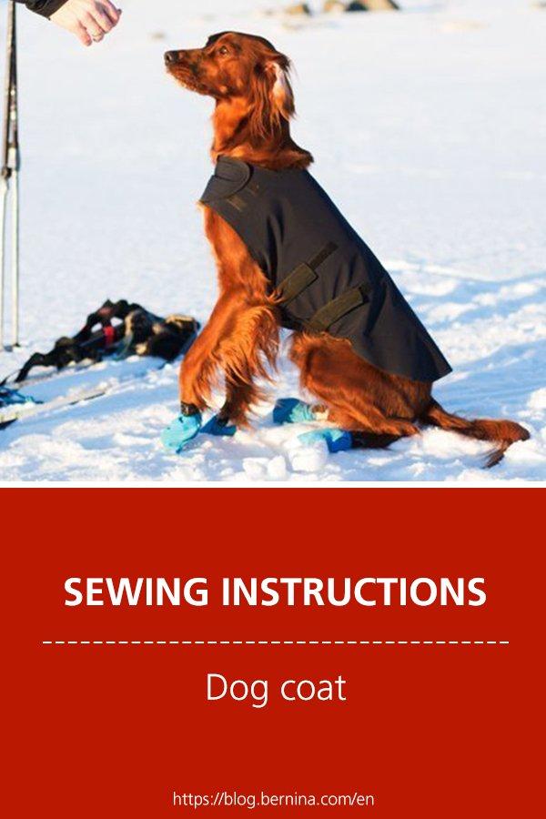 Free sewing instructions: Dog coat
