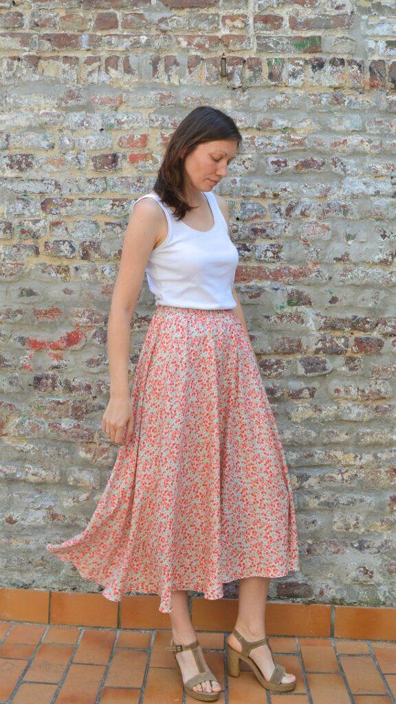 Simple half circle skirt