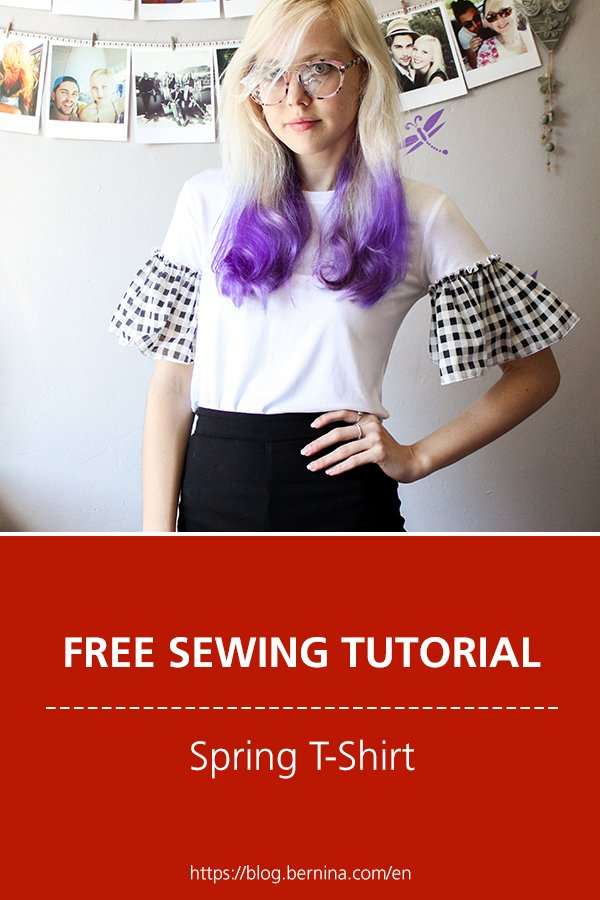 Free sewing instructions: Spring T-Shirt