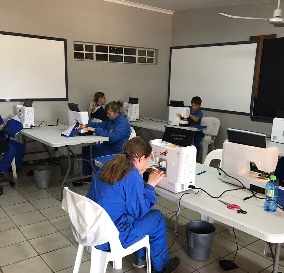 Social Project Sewing School For Kids In South Africa Bernina Blog