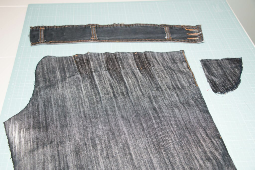 Jeans cutting 2