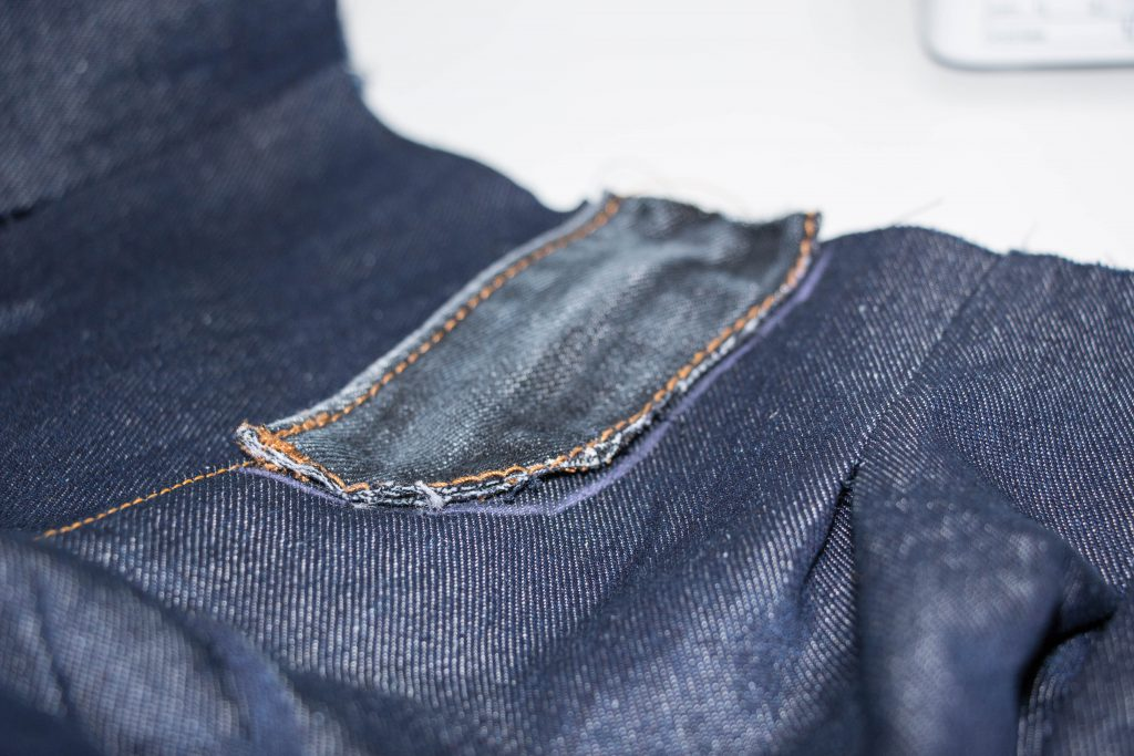 Jeans Topstitching 2