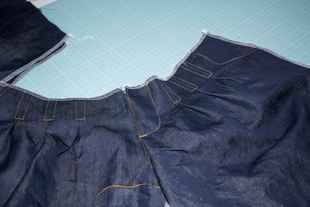Jeans Topstitching 4