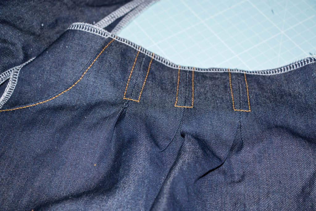 Jeans Topstitching 5