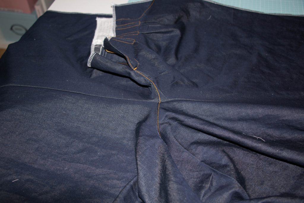 Jeans Topstitching 6