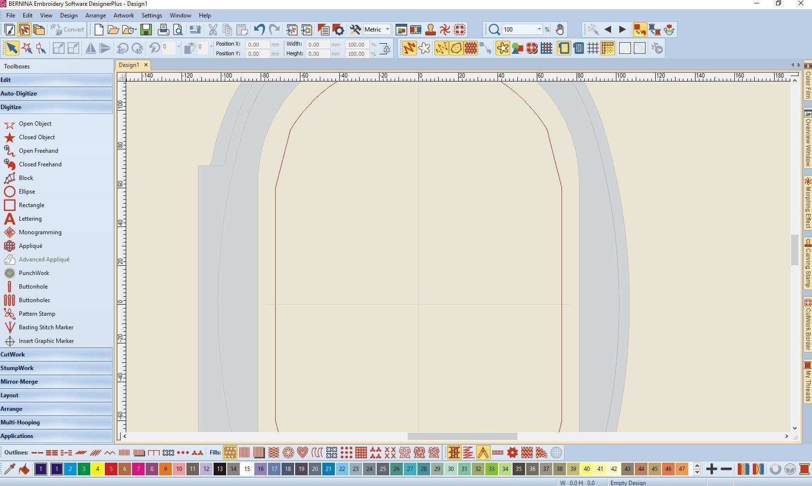 Lesson 2 Bernina Embroidery Software V8 Icons Canvas Toolbar Bernina Blog