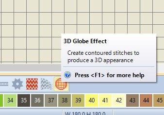 Lesson 11: BERNINA Embroidery Software V8: 3D Globe effect