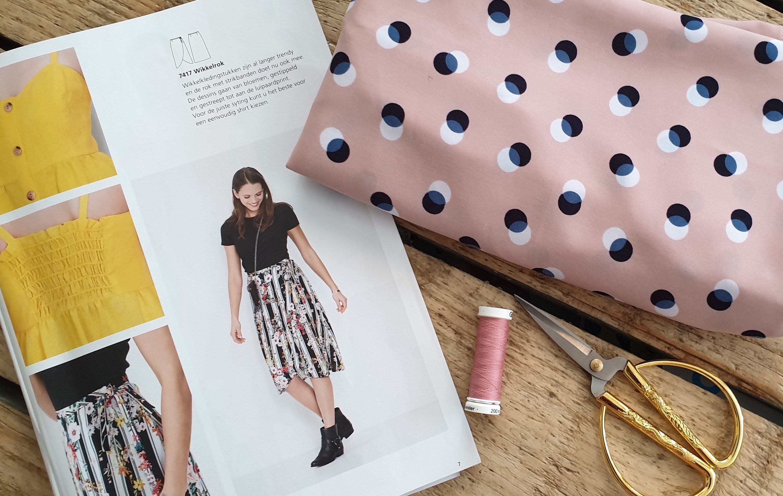 Betere Fast flirty frilly skirt! » BERNINA Blog GG-95