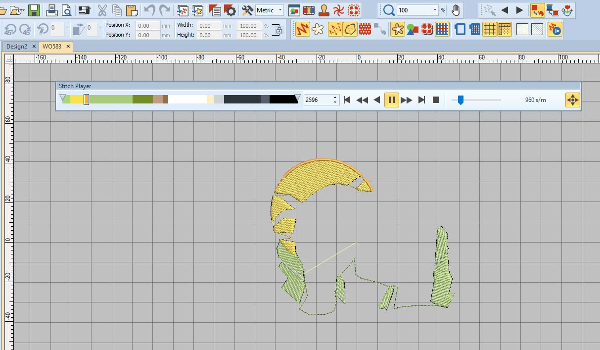 Lesson 12: BERNINA Embroidery Software V8: Color Palette
