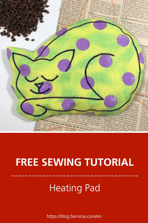 Free sewing pattern & tutorial: Heating pad for babies
