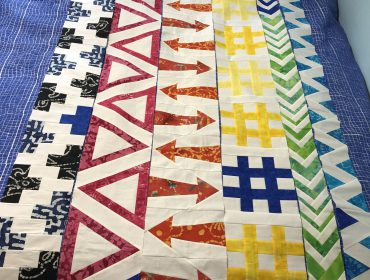 6 quilt rows