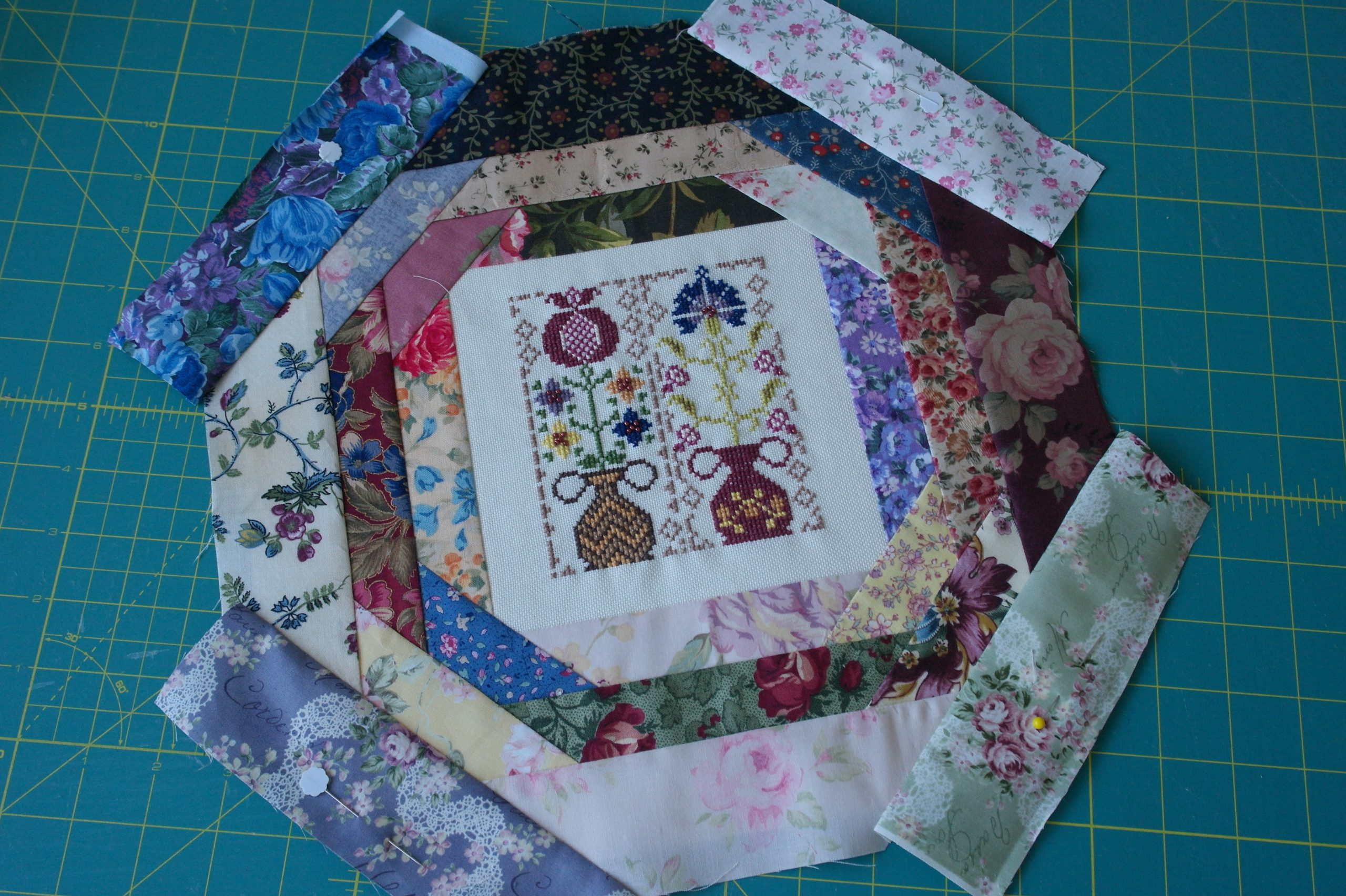 Cross Stitch And Paper Piecing A Great Combination Bernina Blog