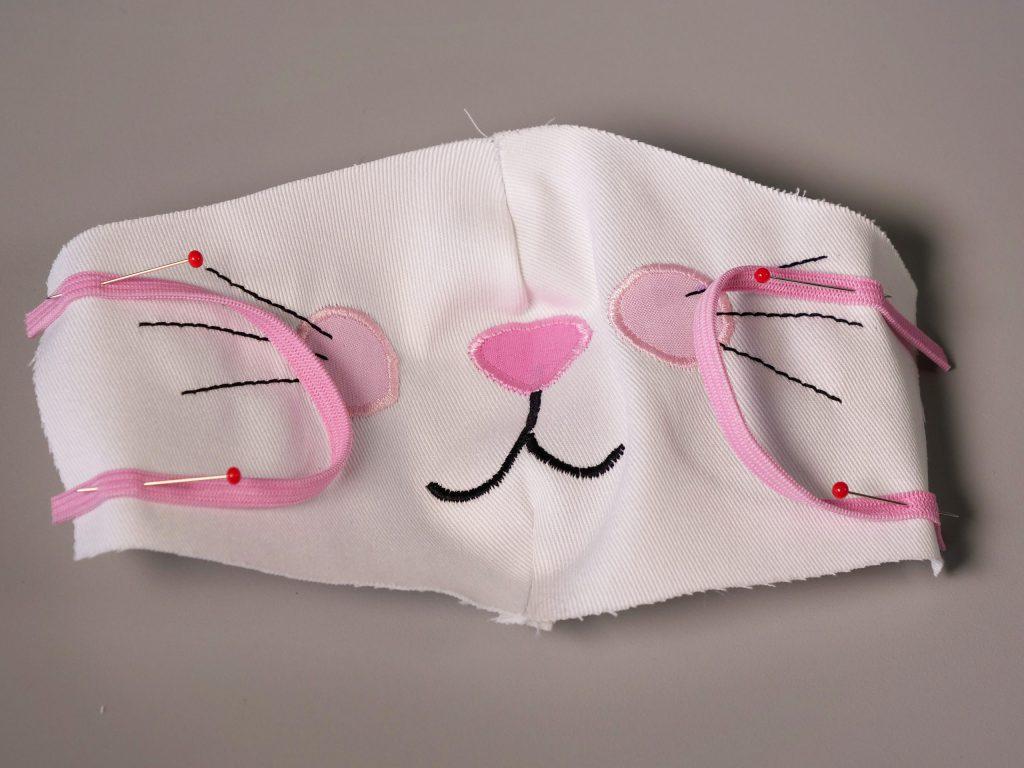 Sew-the-elastic-bands